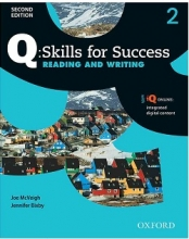 کتاب Q Skills for Success 2nd 2 Reading and Writing+CD