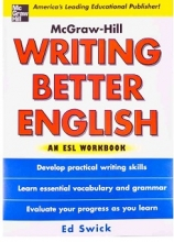 کتاب رایتینگ بتر اینگلیش ان ای اس ال ورکبوک Writing Better English An ESL Workbook