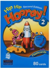 کتاب Flash Cards Hip Hip Hooray 2 2nd