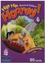 کتاب Flash Cards Hip Hip Hooray 6 2nd