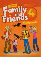 کتاب Flash Cards Family and Friends 4 2nd