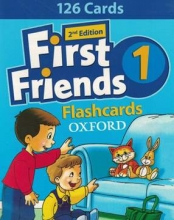 کتاب Flash Cards First Friends 1 2nd