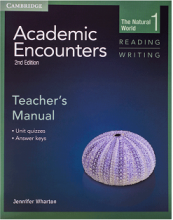 کتاب معلم  Academic Encounters 2nd 1 Reading and Writing Teachers Manual