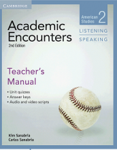 کتاب معلم Academic Encounters 2nd 2 Listening and Speaking Teachers Manual
