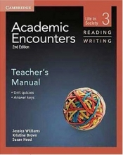 کتاب معلم Academic Encounters 2nd 3 Reading and Writing Teachers Manual