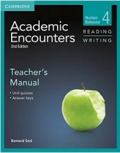 کتاب معلم Academic Encounters 2nd 4 Reading and Writing Teachers Manual