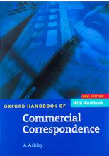 کتاب آکسفورد هندبوک Oxford Handbook of Commercial Correspondence(مکاتبات تجاری اشلی)