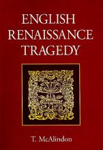 کتاب English Renaissance Tragedy Ideas of Freedom