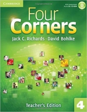 کتاب معلم Four Corners 4 teachers edition
