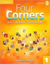 کتاب معلم فورکرنز Four Corners Level 1 Teacher's Edition