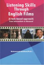 کتاب تقویت مهارتهای شنیداری از طریق فیلم های انگلیسی+DVDگلشن