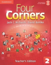 کتاب معلم Four Corners 2 teachers edition