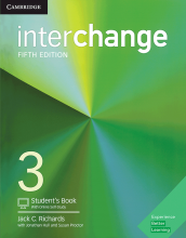 کتاب Interchange 5th 3 SB+WB+CD رحلی