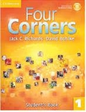 کتاب آموزشی فورکرنز Four Corners 1 Student Book and Work book with CD