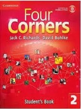 کتاب آموزشی فورکرنرز Four Corners 2 Student Book and Work book with CD