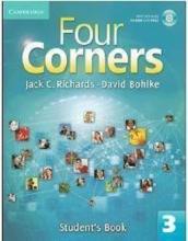 کتاب آموزشی فورکرنز ویرایش قدیم Four Corners 3 Student Book and Work book with CD