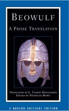 کتاب Beowulf A Prose TranslationDonaldson-Norton Critical