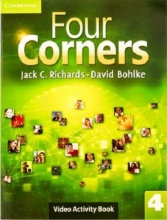 کتاب Four Corners 4 Video Activity book with DVD