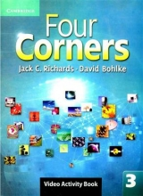 کتاب Four Corners 3 Video Activity book with DVD