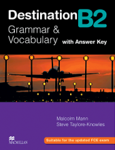 کتاب Destination B2 Grammar and Vocabulary with Answer Key
