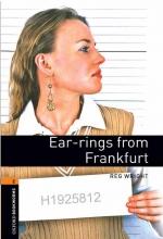 کتاب داستان آکسفورد بوک وارمز تو ار رینگز فرام فرانکفورت Oxford Bookworms 2 Ear-rings from Frankfurt