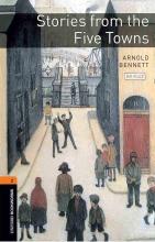 کتاب داستان آکسفورد بوک وارمز تو استوریز فرام فایو تونز Oxford Bookworms 2 Stories from the Five Towns+CD