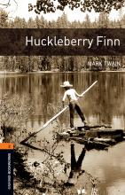 کتاب داستان آکسفورد بوک وارمز تو هاکلیری فین  Oxford Bookworms 2 Huckleberry Finn