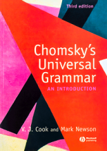 کتاب  Chomskys Universal Grammar
