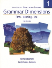 کتاب Grammar Dimensions 1 Fourth Edition