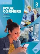 کتاب آموزشی فورکرنز Four Corners 2nd 3 SB+WB+DVD
