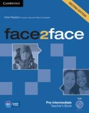 کتاب معلم face2face Pre-intermediateTeacher's Book