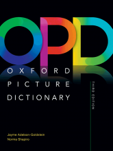 کتاب Oxford Picture Dictionary 3rd+CD - Digest Size Hard Cover