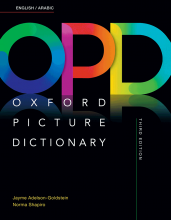 کتاب Oxford Picture Dictionary 3rd English-Arabic+CD رحلی