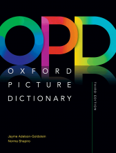 کتاب Oxford Picture Dictionary 3rd+CD