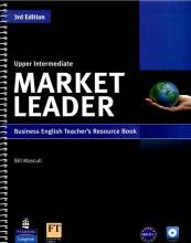 کتاب مارکت لیدرز آپر اینترمدیت تری دی ادیشن تیچرز بوک Market Leader Upper-Intermediate 3rd edition Teachers Book