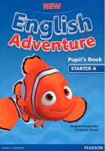 کتاب New English Adventure Starter A