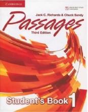 کتاب پسیج 1 ویرایش سوم Passages 3rd 1 S+W+CD