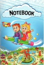کتاب Notebook دفتر چهارخط وزيري