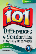 کتاب 101differences and similarities of synonymous words +cd