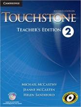 کتاب معلم Touchstone 2 Teachers book+cd 2nd edition