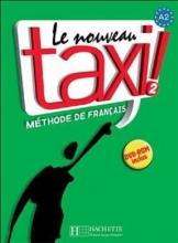 کتاب فرانسه تکسی دو le nouveau taxi 2 livre de l'eleve A2+ cahier d'exercices + dvd