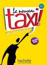 کتاب فرانسه تکسی سه le nouveau taxi 3 livre de l'eleve B1+ cahier d'exercices + dvd