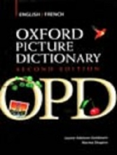 کتاب Oxford Picture Dictionary English-French(OPD-H.B)+CD