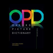 کتاب Oxford Picture Dictionary(OPD-H.B)+CD