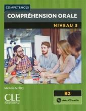 کتاب Comprehension orale 3 - Niveau B2 + CD - 2eme سیاه و سفید