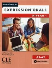 کتاب Expression orale 1 - Niveaux A1/A2 + CD - 2eme edition سیاه و سفید