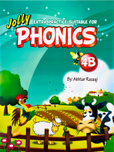 کتاب Extra Practice Suitable for Phonics 4B