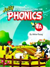 کتاب Extra Practice Suitable for Phonics 4A