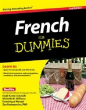 کتاب فرنچ فور دامیز ویرایش دوم French For Dummies - 2nd Edition