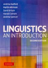 کتاب Linguistics An Introduction 2nd Edition